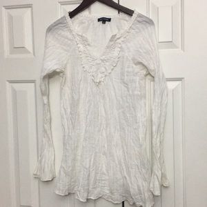 Max Edition White long sleeve top